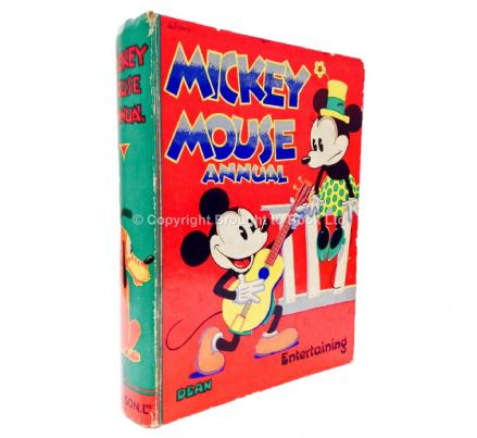Mickey Mouse Annual 1936 Dean & Son Ltd 1935